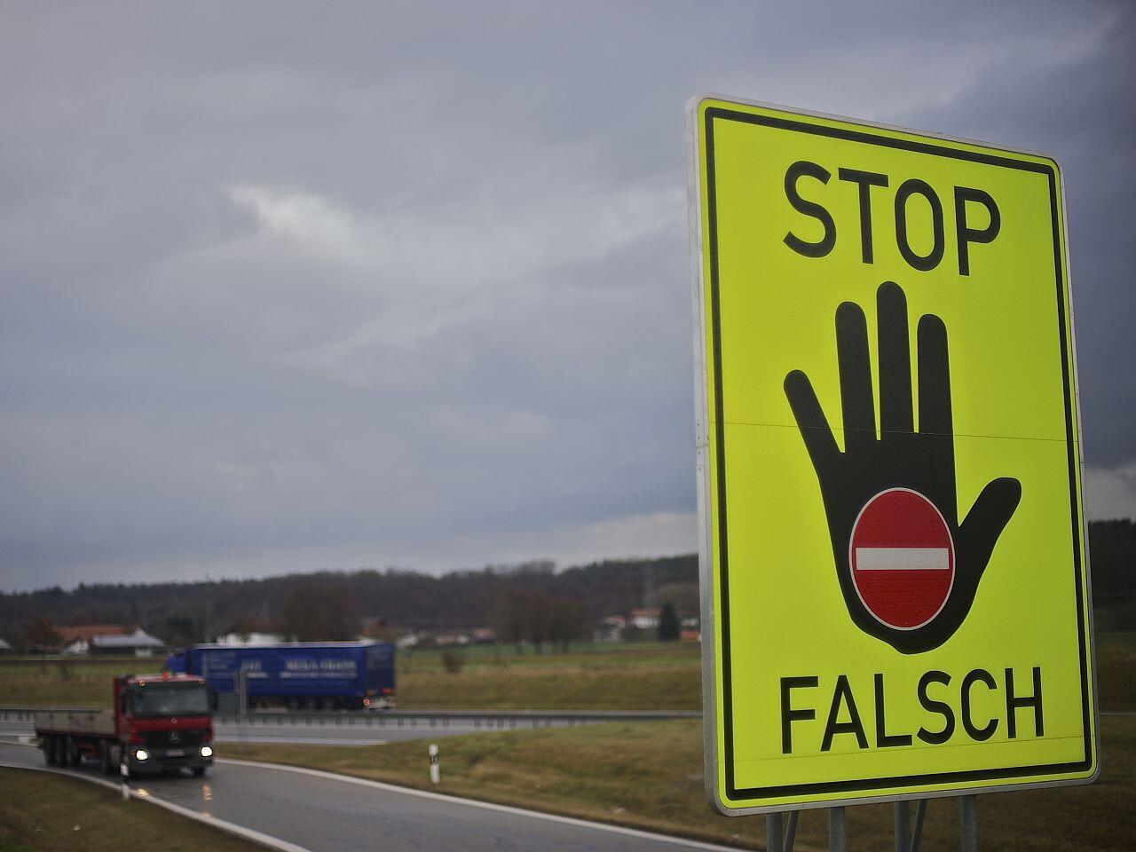 Bild zu Bei Falschfahrern ist besondere Vorsicht geboten