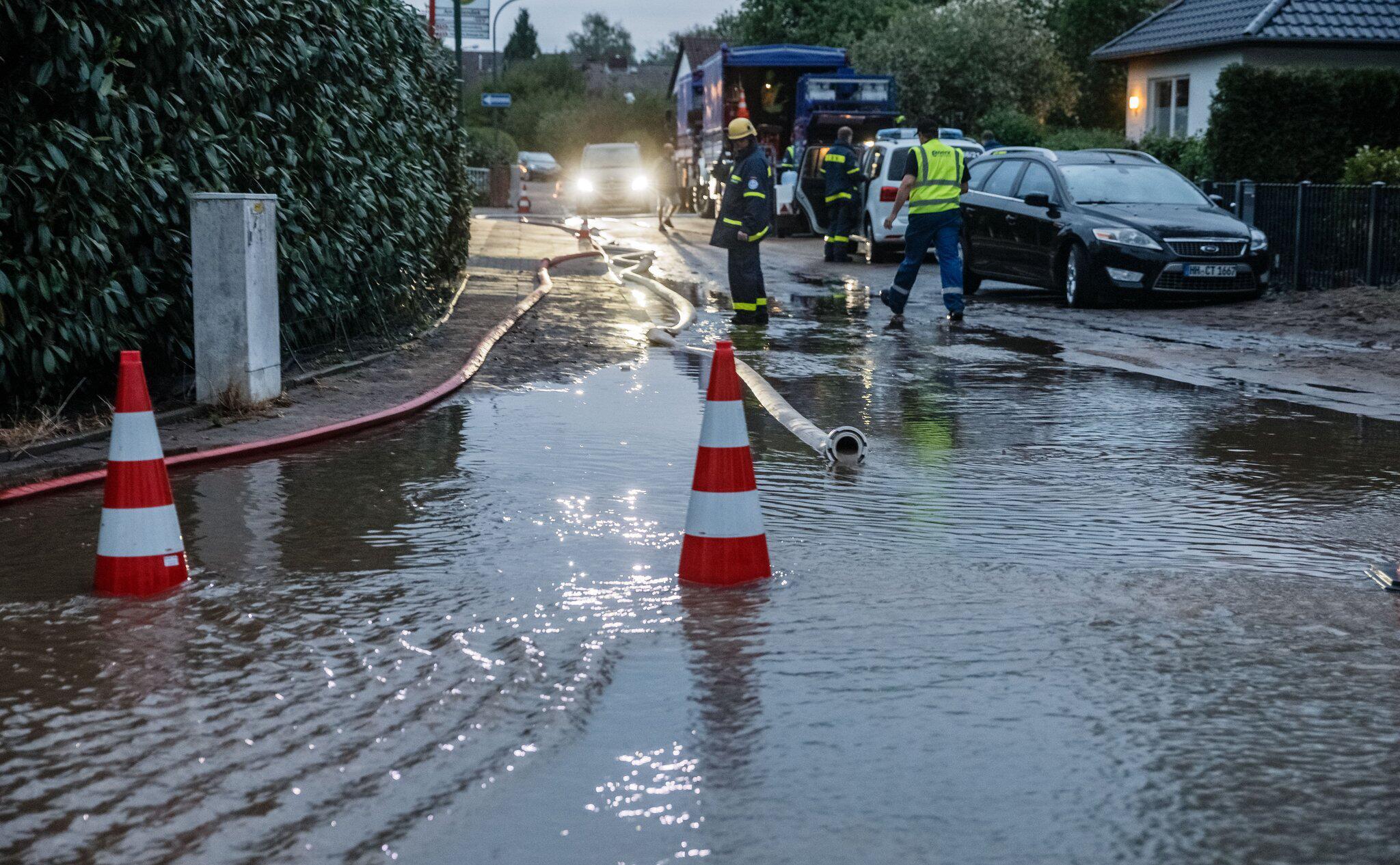 Bild zu Unwetterfolgen in Havighorst