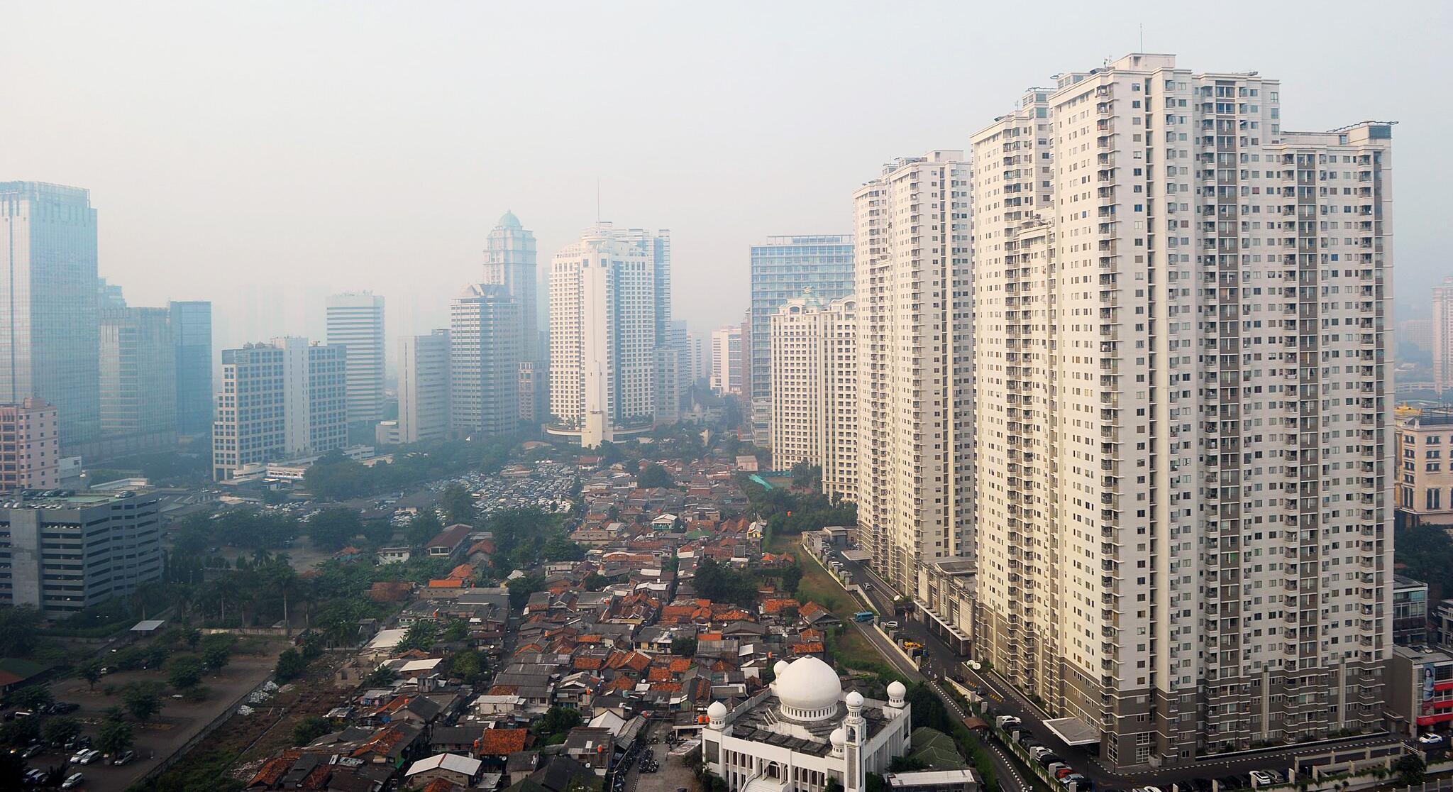 Bild zu Stadtansicht Jakarta