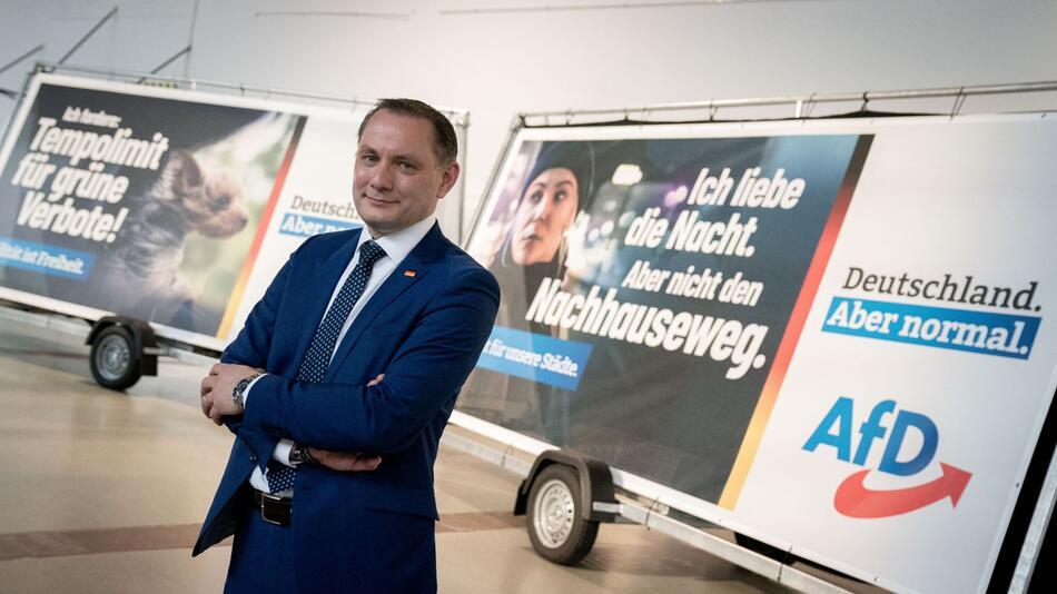 Präsentation der AfD-Bundestagswahlkampagne