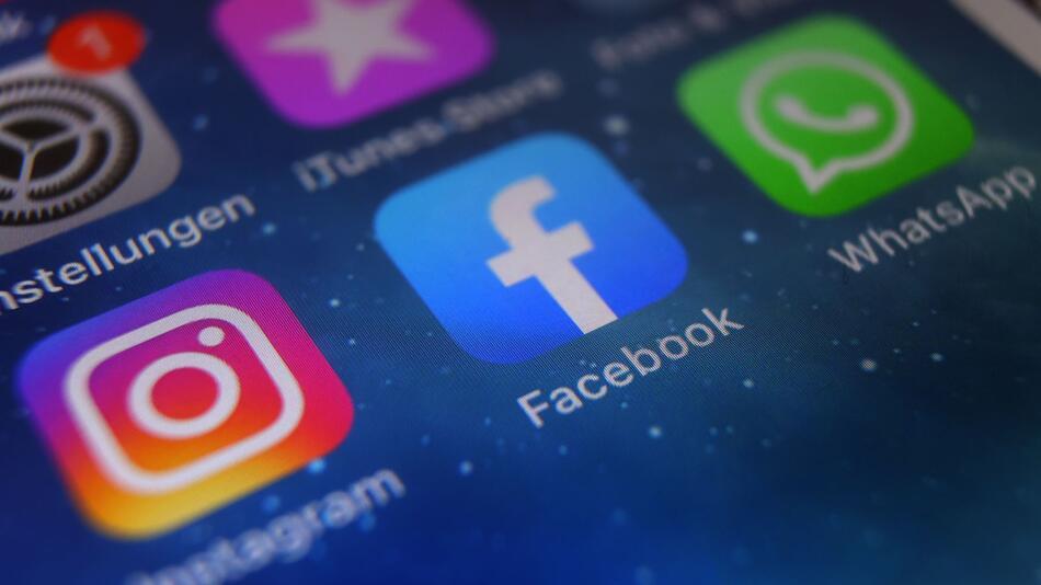 Instagram, Facebook und WhatsApp
