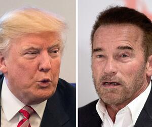 Donald Trump und Arnold Schwarzenegger