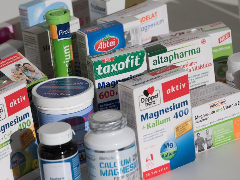 Bild zu Magnesium-Präparate