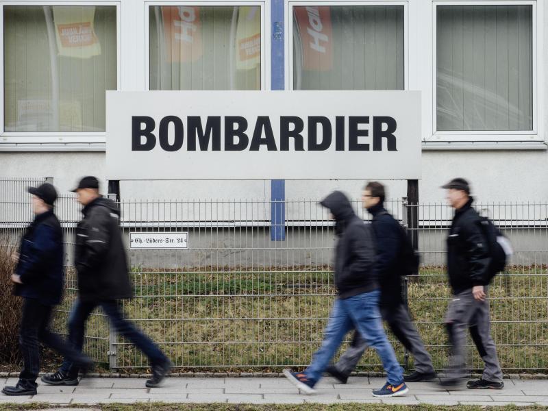 Bild zu Bombardier-Werk in Görlitz