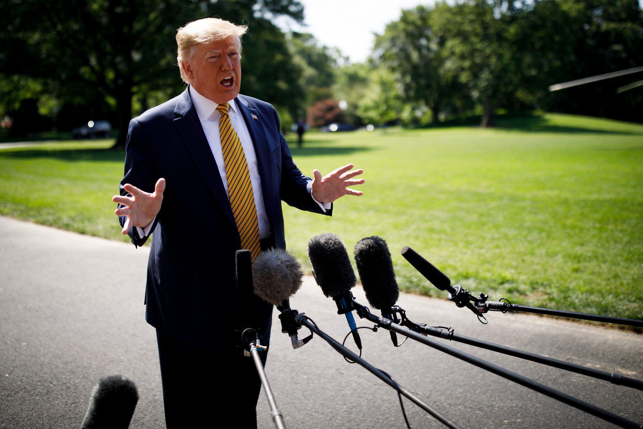 Bild zu Trump kündigt weitere Sanktionen gegen den Iran an