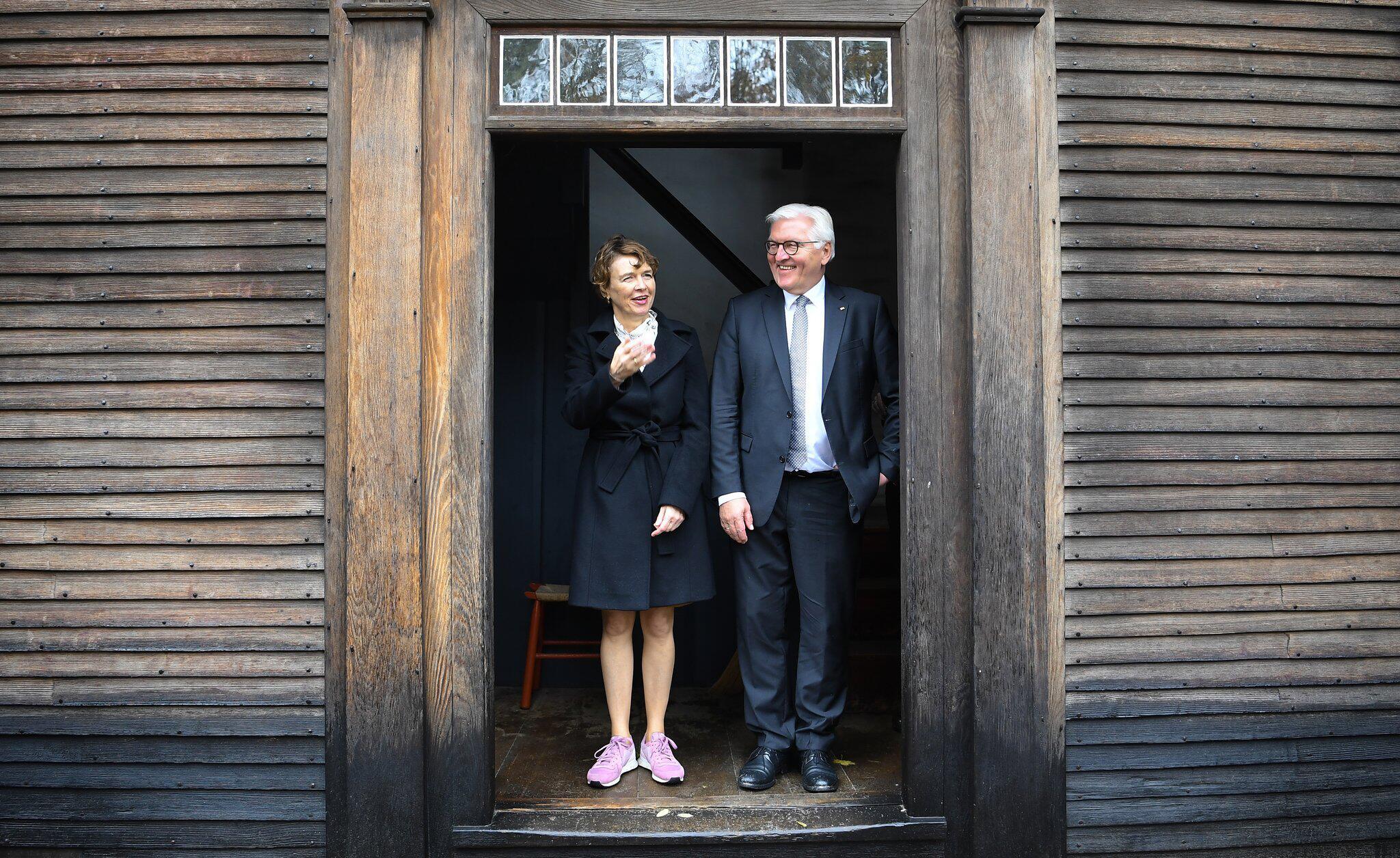 Bild zu Bundespräsident Steinmeier in Boston
