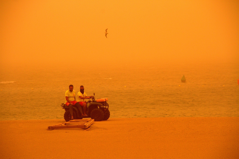 Bild zu Sandsturm, Kanaren
