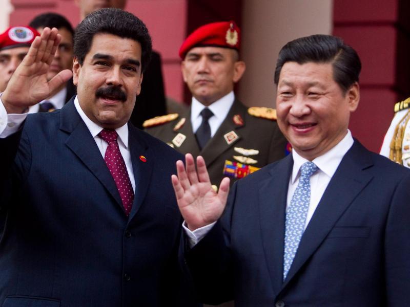Bild zu Xi und Maduro