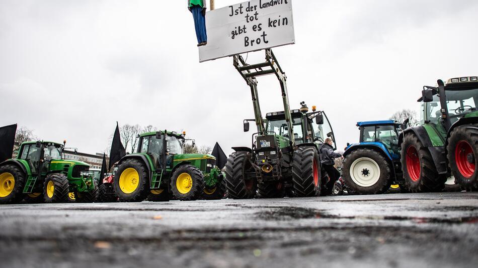 Bauern planen Demonstration
