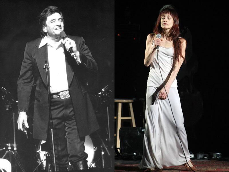 Bild zu Johnny Cash und Fiona Apple