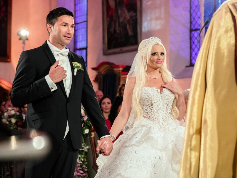Bild zu Hochzeit Daniela Katzenberger und Lucas Cordalis