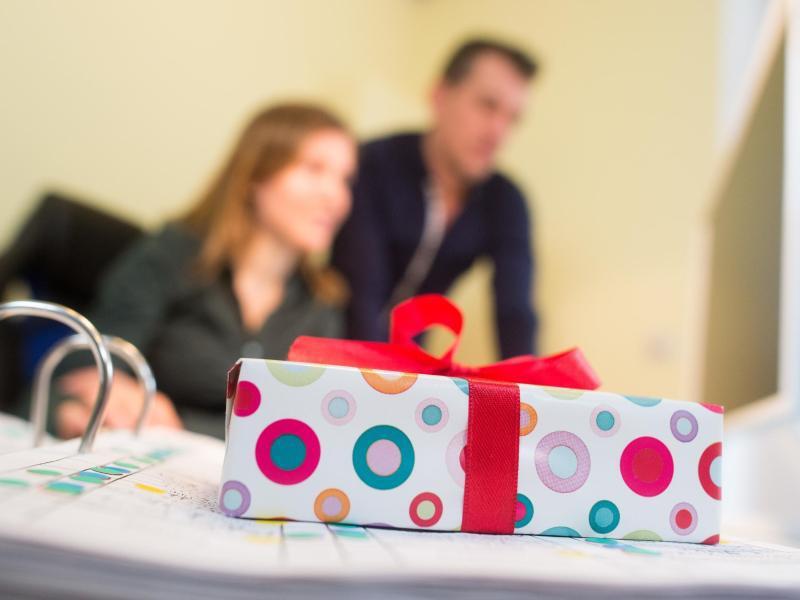 Bild zu Geschenke für Arbeitnehmer