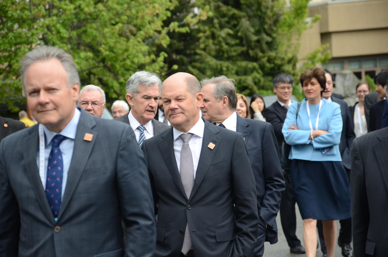 Bild zu G7, Olaf Scholz