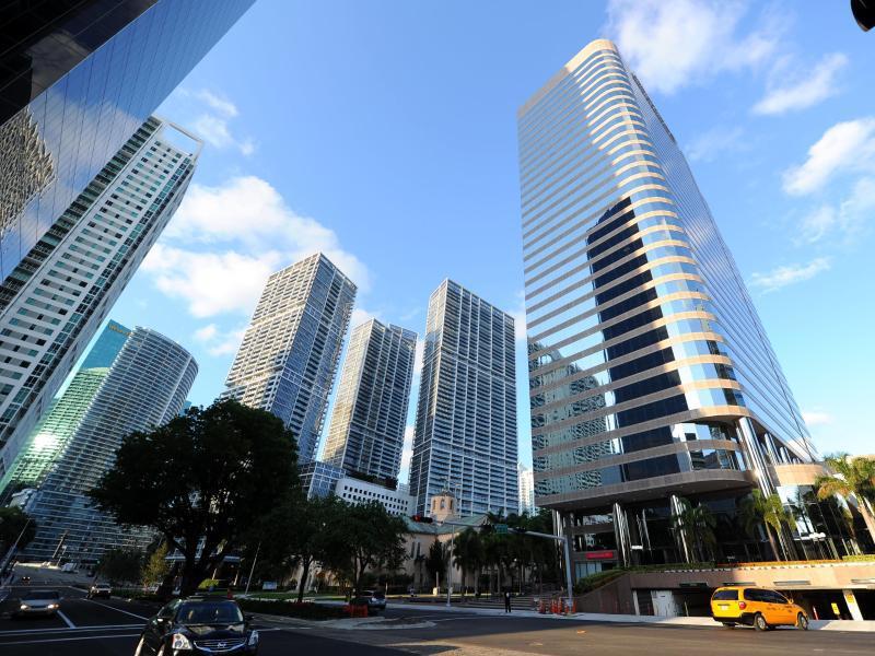 Bild zu Skyline von Downtown Miami