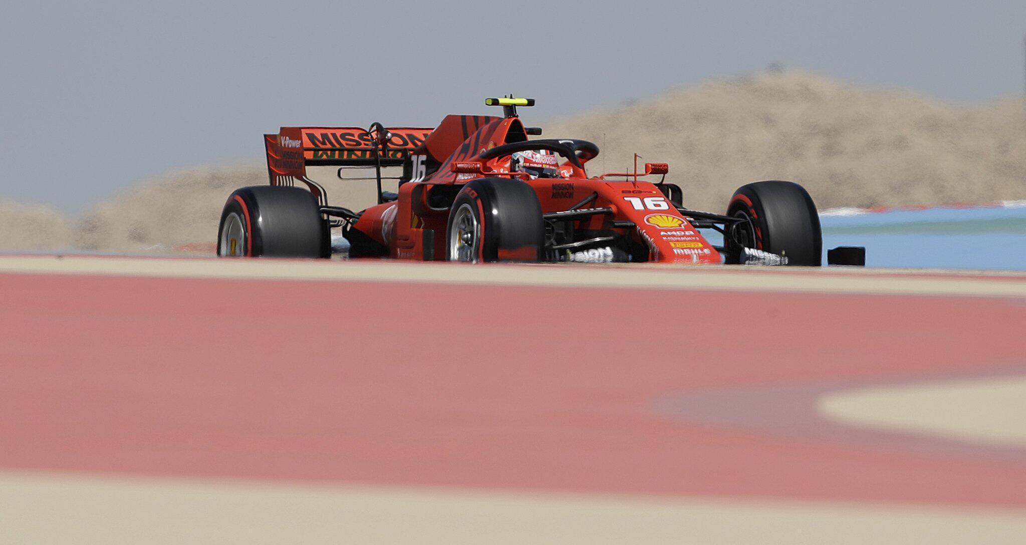 Bild zu Formel-1-Training auf dem Bahrain International Circuit