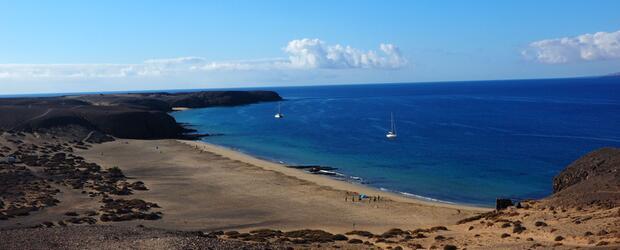 Lanzarote: Papagayo Strand
