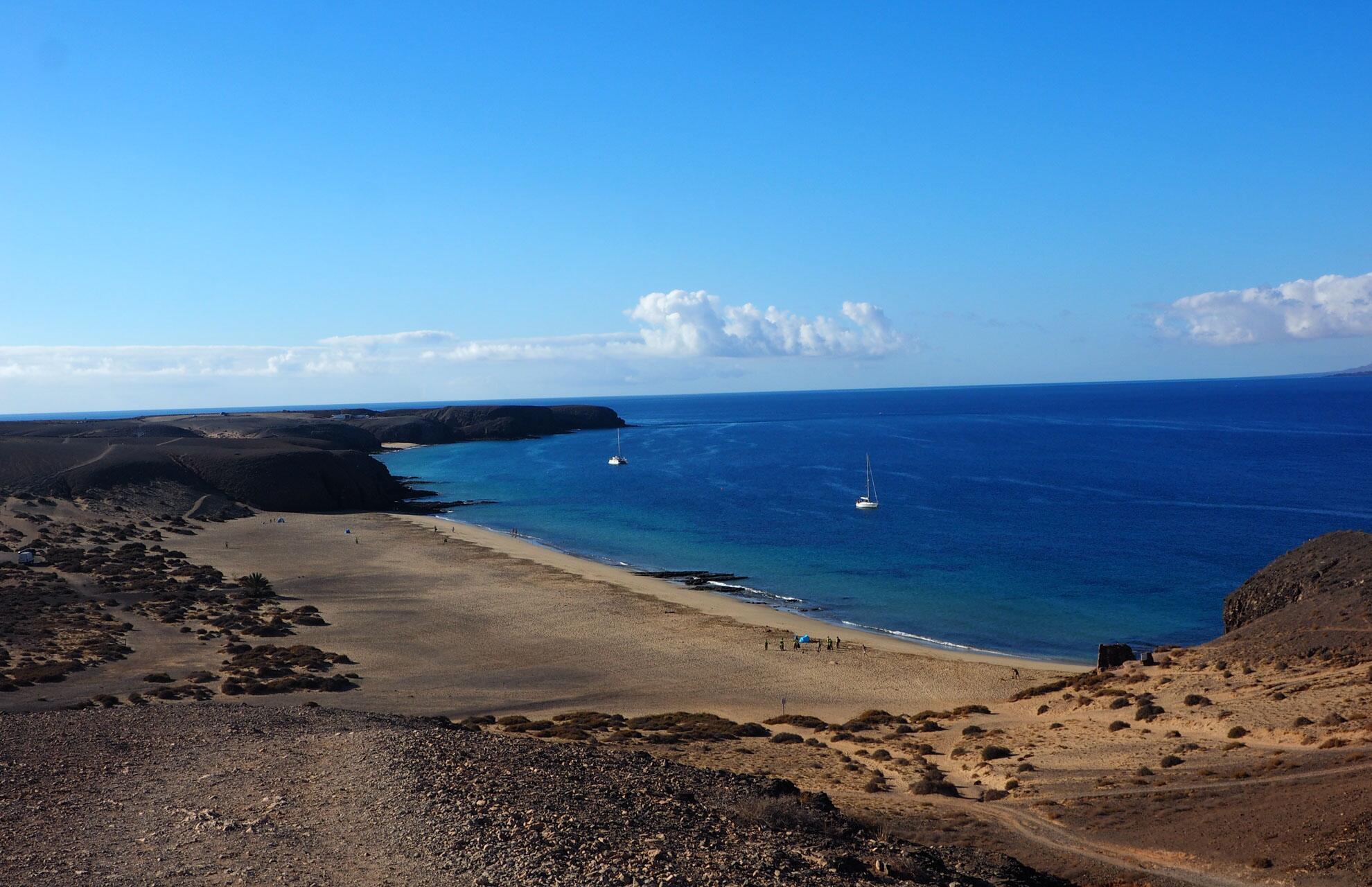 Bild zu Lanzarote: Papagayo Strand