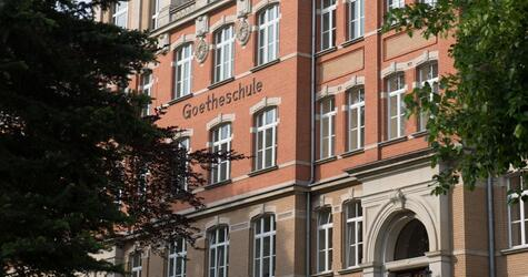 Gymnasium, Auerbach, Goetheschule