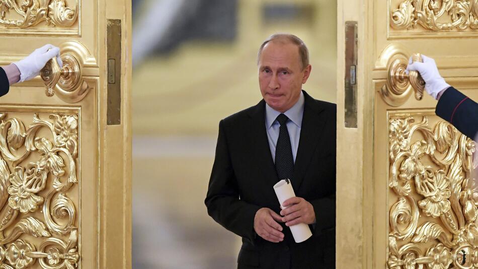 Russlands Präsident Wladimir Putin im Kreml