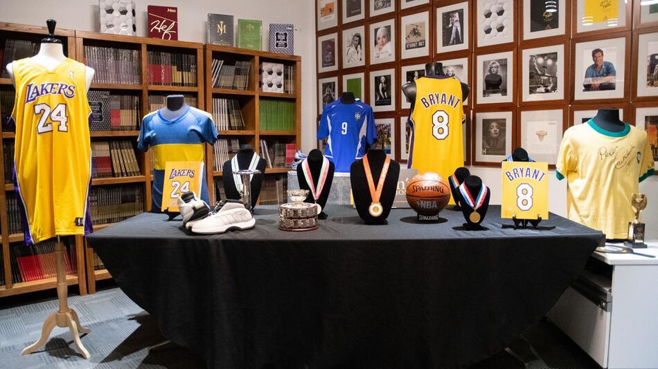 Auktion von Sport-Devotionalien von Kobe Bryant
