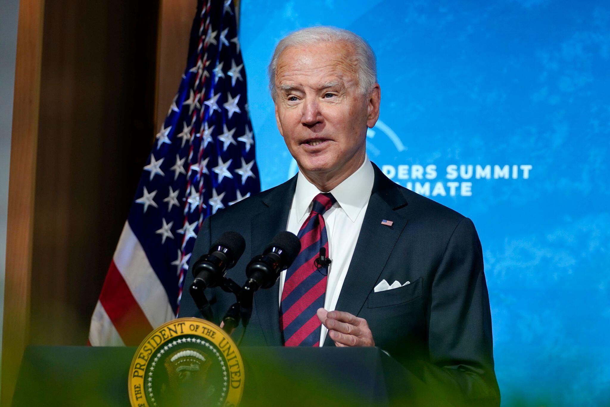 Bild zu Virtueller internationaler Klima-Gipfel - US-Präsident Biden