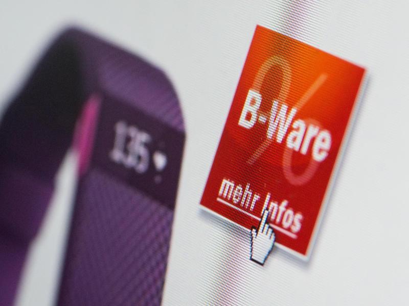 Bild zu Suche nach B-Ware
