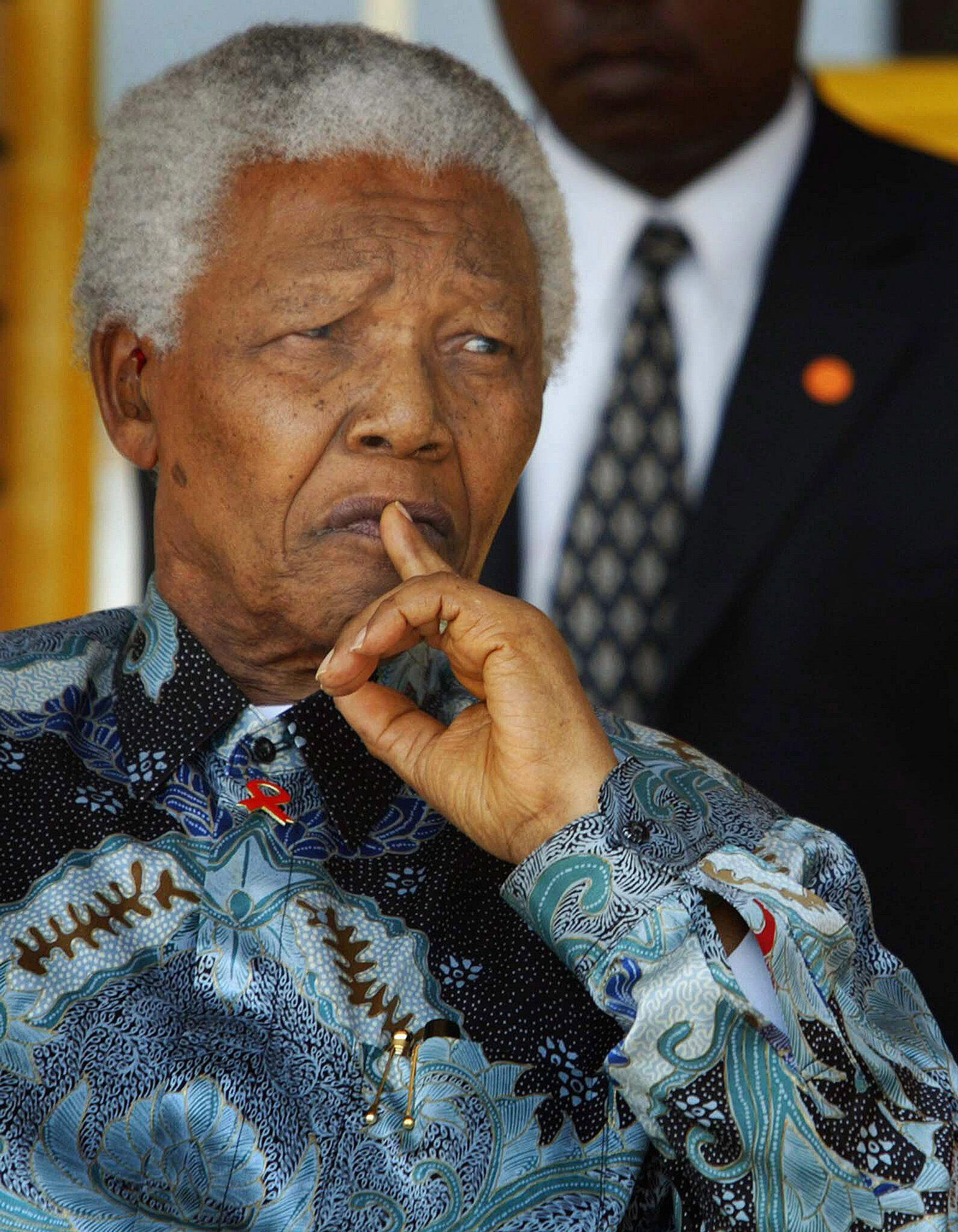 Bild zu Nelson Mandela