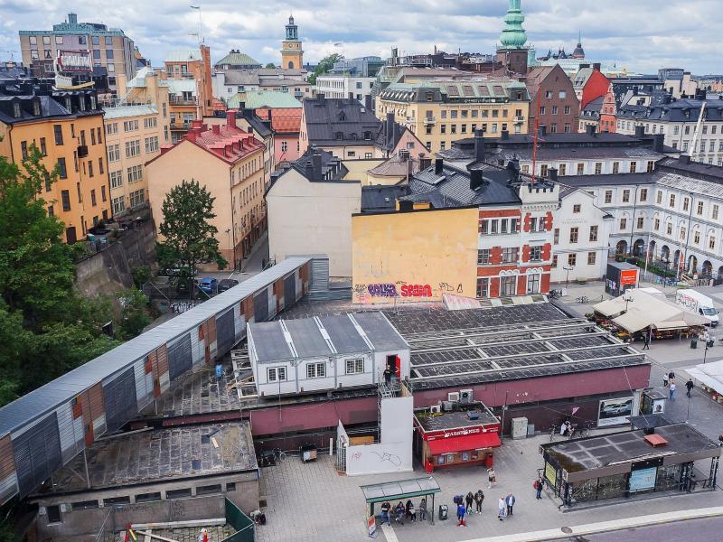 Bild zu Blick über Stockholm