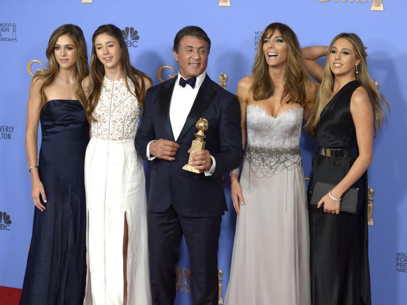 Bild zu Golden Globes - Sylvester Stallone