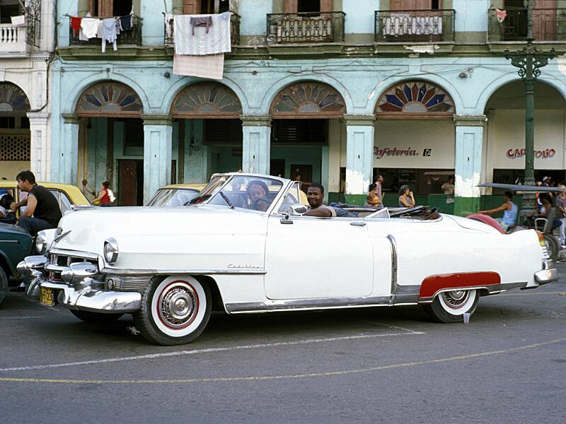 Bild zu Pures Vergnügen - ohne Dach durch Havanna