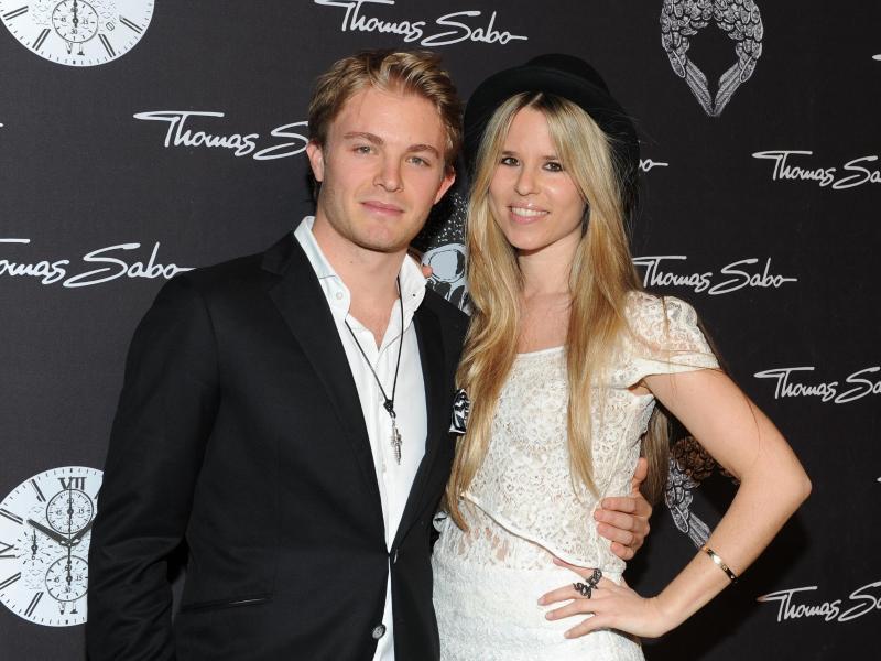 Bild zu Nico und Vivian Rosberg