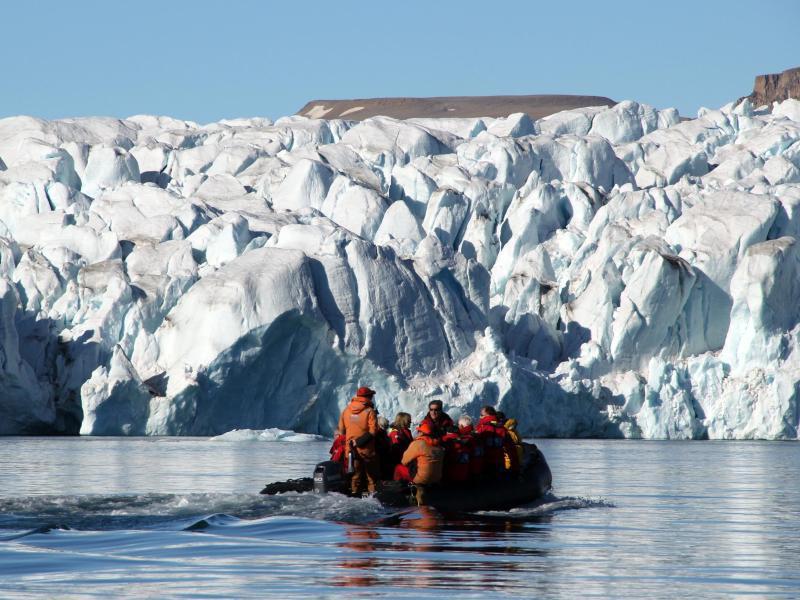 Bild zu Fahrt zum Polareis in der Croker Bay