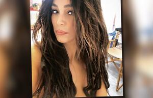 Wo sind ihre Brüste hin? Verona Pooth tappt mal wieder in die Photoshop-Falle...