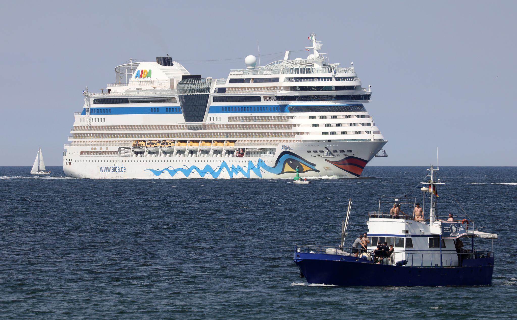 Bild zu Aida-Kreuzfahrtschiffe in Rostock