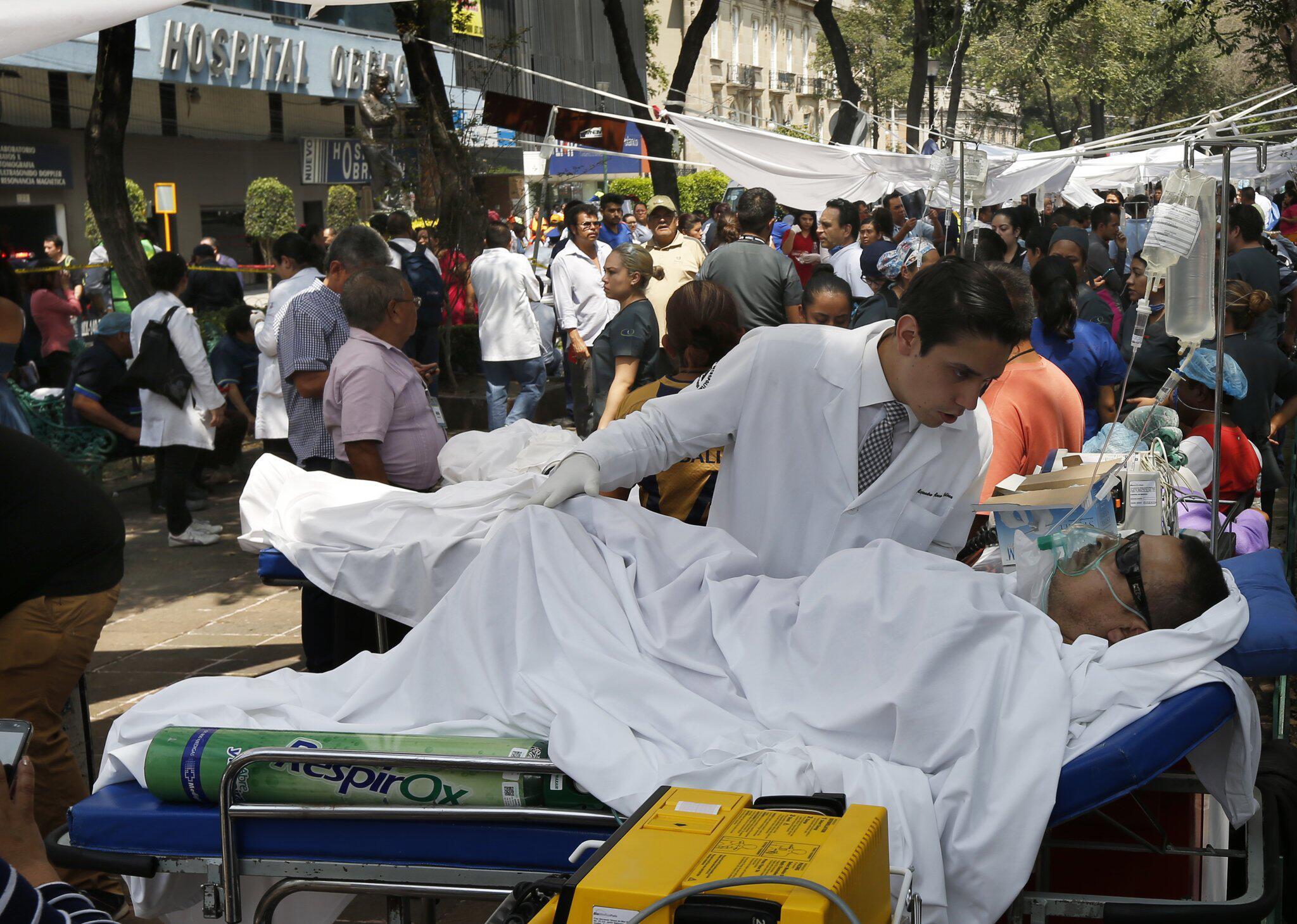 Bild zu Erdbeben in Mexiko