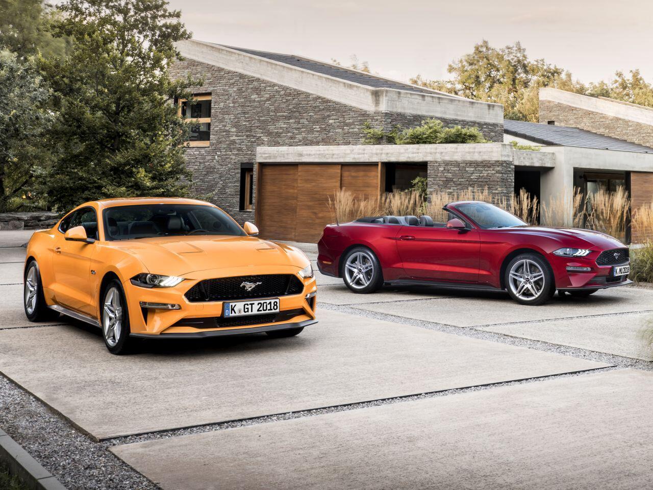 Bild zu Ford Mustang 2018