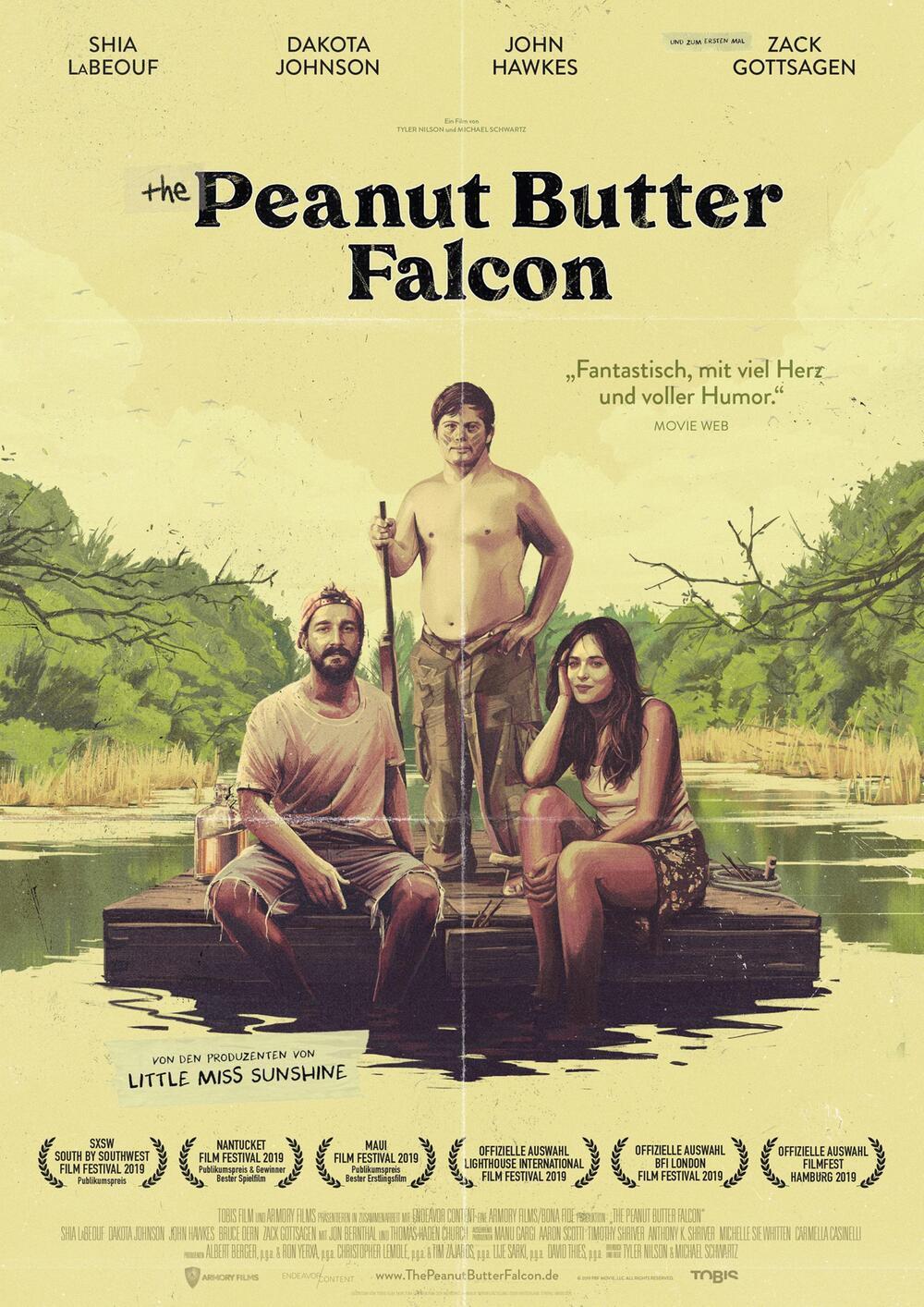 The Peanut Butter Falcon Filmplakat