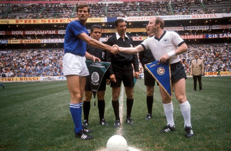 """Bild zu WM 1970: """"Jahrhundertspiel"""" im Azteken-Stadion"""