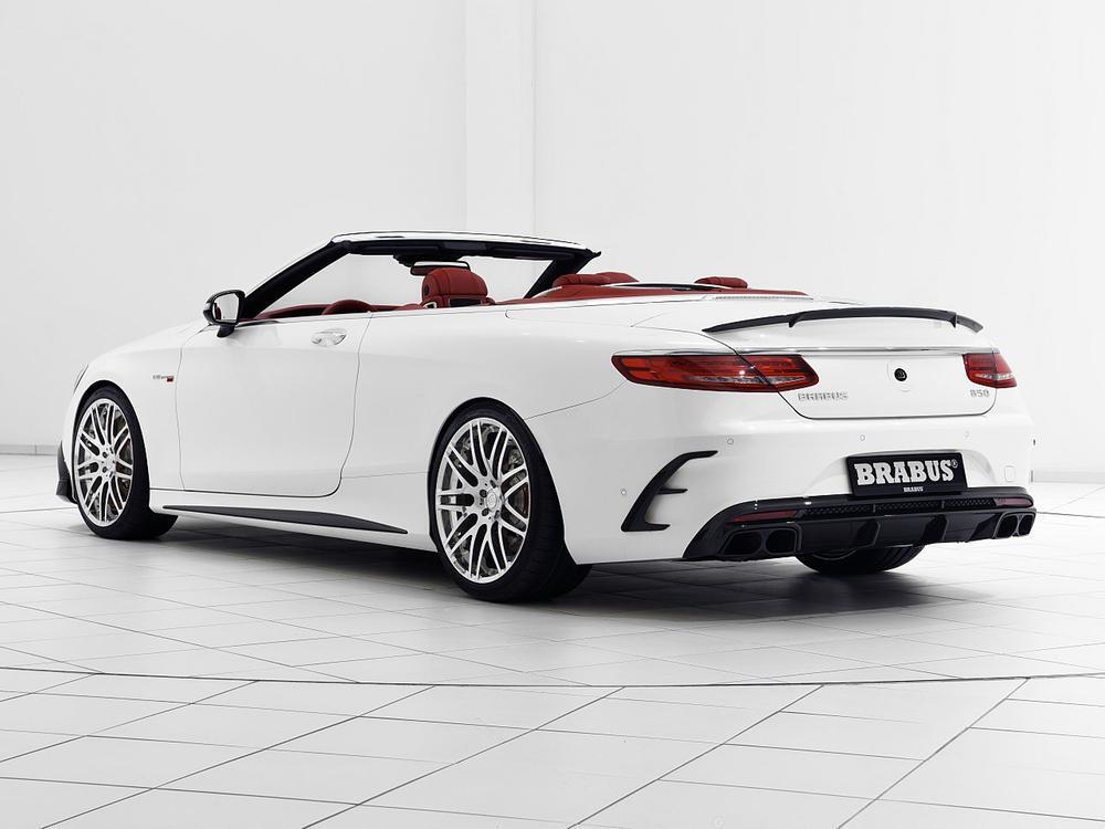 Bild zu Brabus 850 Mercedes S 63 Cabrio