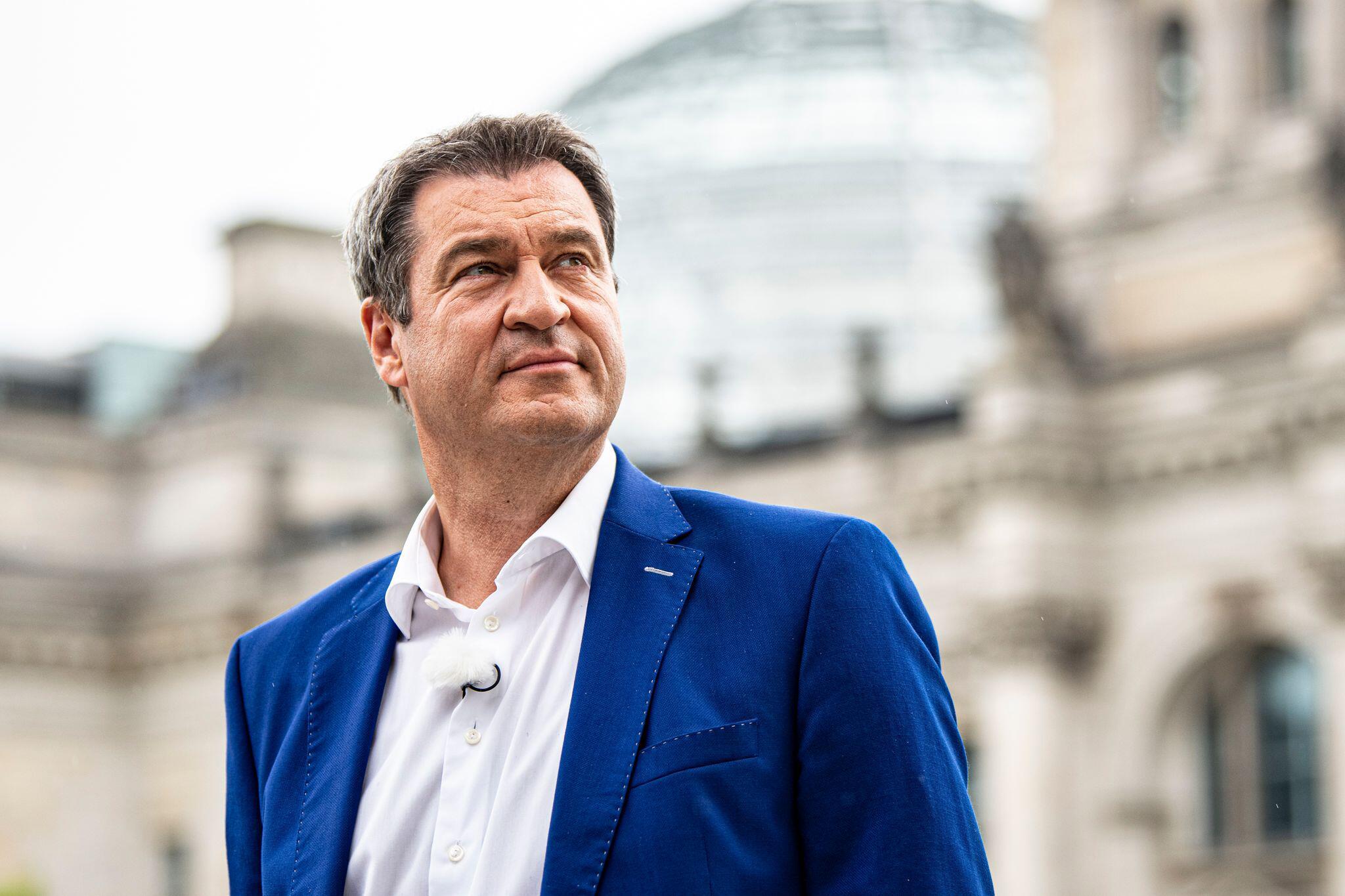 Bild zu ARD-Sommerinterview mit dem CSU-Vorsitzenden Söder