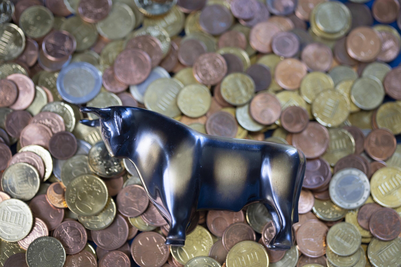 Bild zu Bulle und Münzen