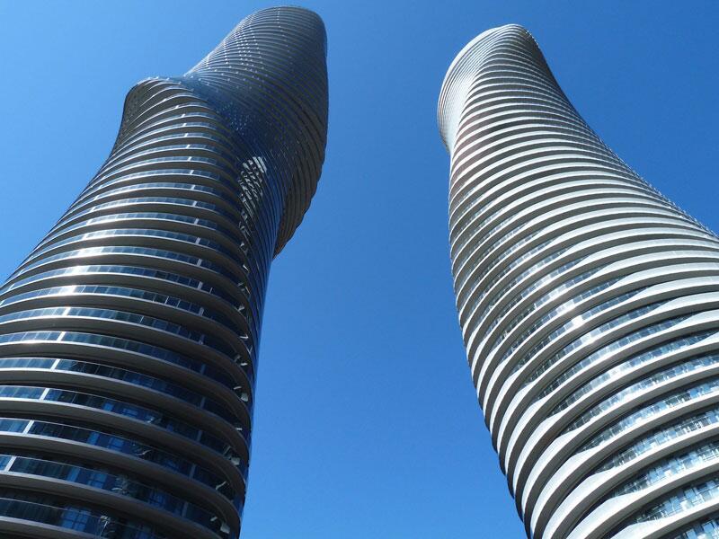Bild zu Platz 1: Absolute World Towers, Mississauga, Kanada