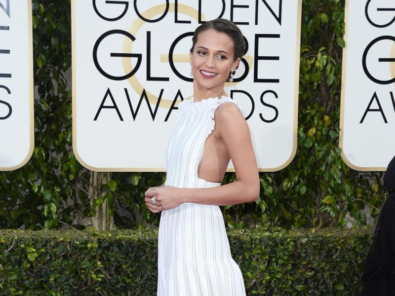 Bild zu Golden Globes - Alicia Vikander