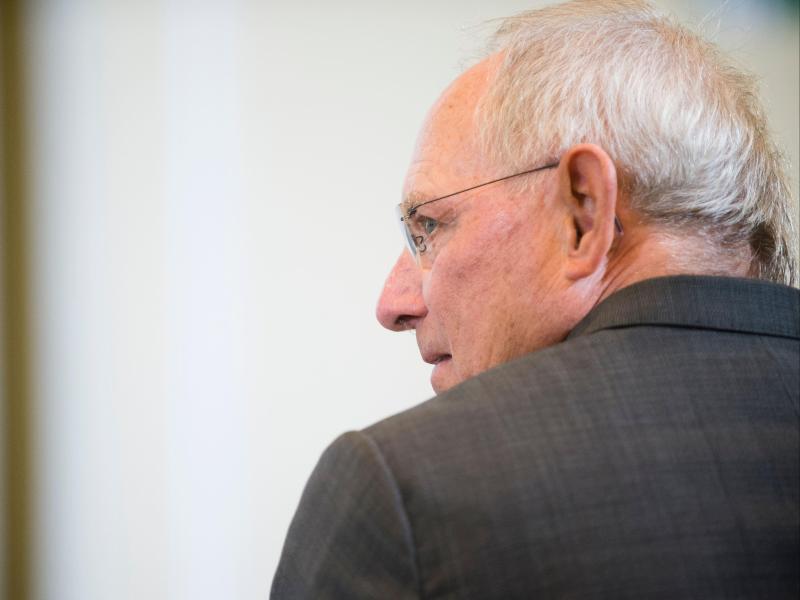 Bild zu Finanzminister Schäuble