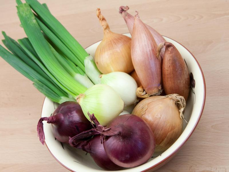 Bild zu Zwiebeln und Schalotten