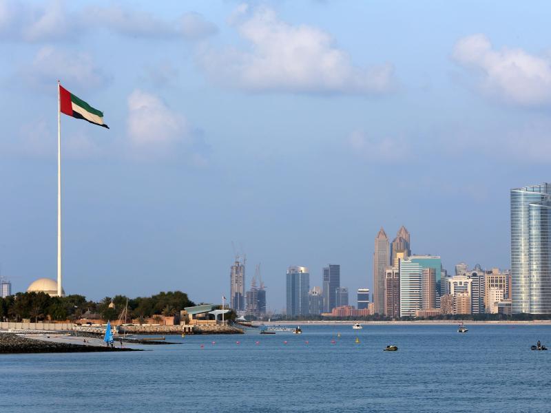 Bild zu Skyline von Abu Dhabi
