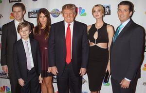 Eric Trump, Barron Trump, Melania Trump, Donald Trump, Ivanka Trump, Donald Trump Jr.