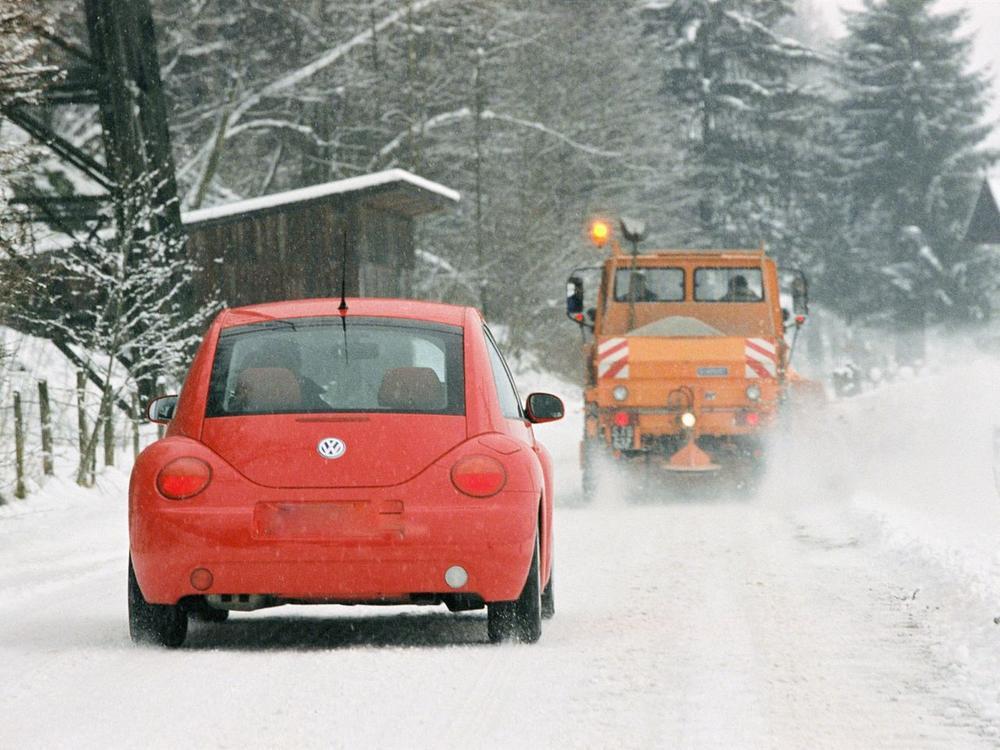 Bild zu Schneepflug
