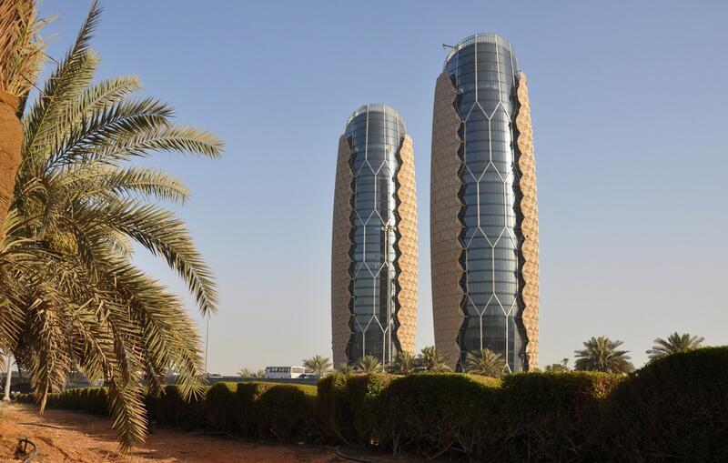 Bild zu Platz 2: Al Bahr Towers, Abu Dhabi, VAE
