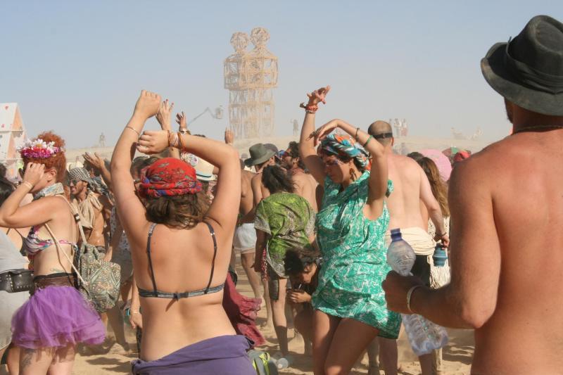 Midburn 2016 in der Negev-Wüste